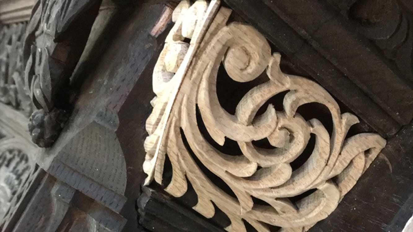 Cooper Bespoke Joinery Samlesbury Hall Preston Lancashire Stately home Wedding Carpentry