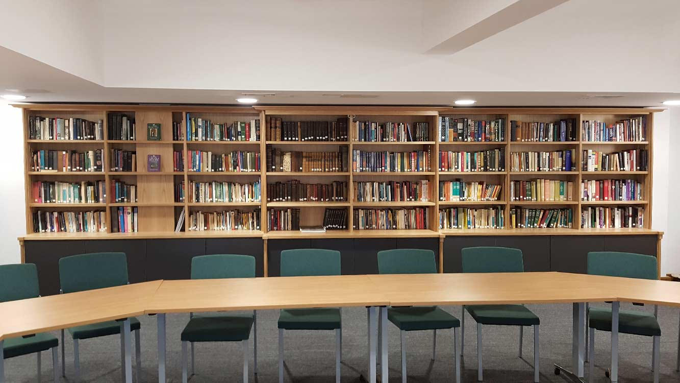 Copper Bespoke Libraries Blackburn-Lancashire-Diocese-Ecclesiastical-Cathedral-Library