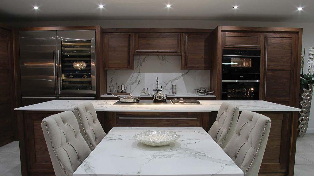 Frank Anthony Kitchens Handbuilt Handcrafted Walnut Blakelidge Dekton SubZero