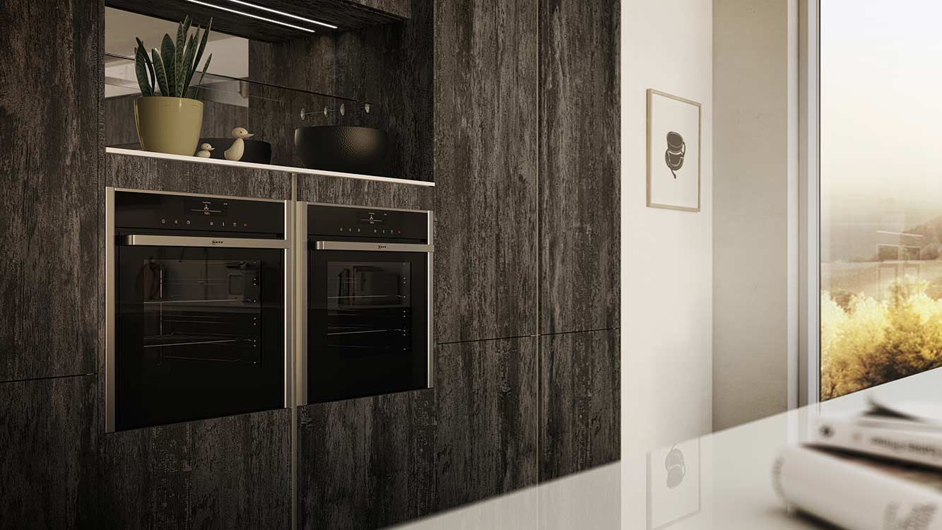 Masterclass Kitchens Blackburn H Line Deco Twilight