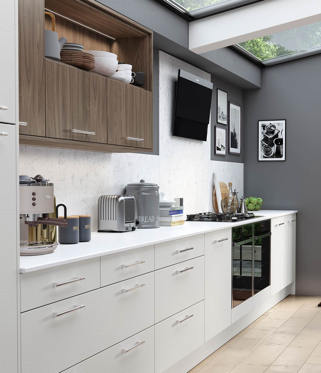 Masterclass-kitchen-Larna-light-grey-graphite-madoc-tuscan-walnut-cameo-4