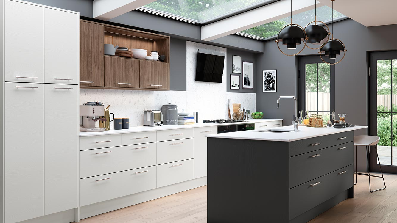 Masterclass-kitchen-Larna-light-grey-graphite-madoc-tuscan-walnut-main