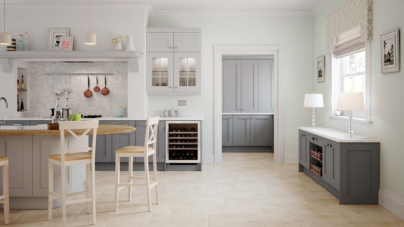 Masterclass kitchens Blackburn Ashbourne Cameo A