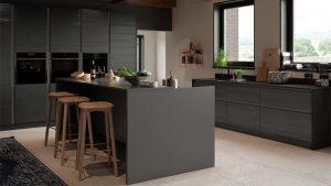 Masterclass-kitchens-Blackburn-H-line-larna-graphite-main
