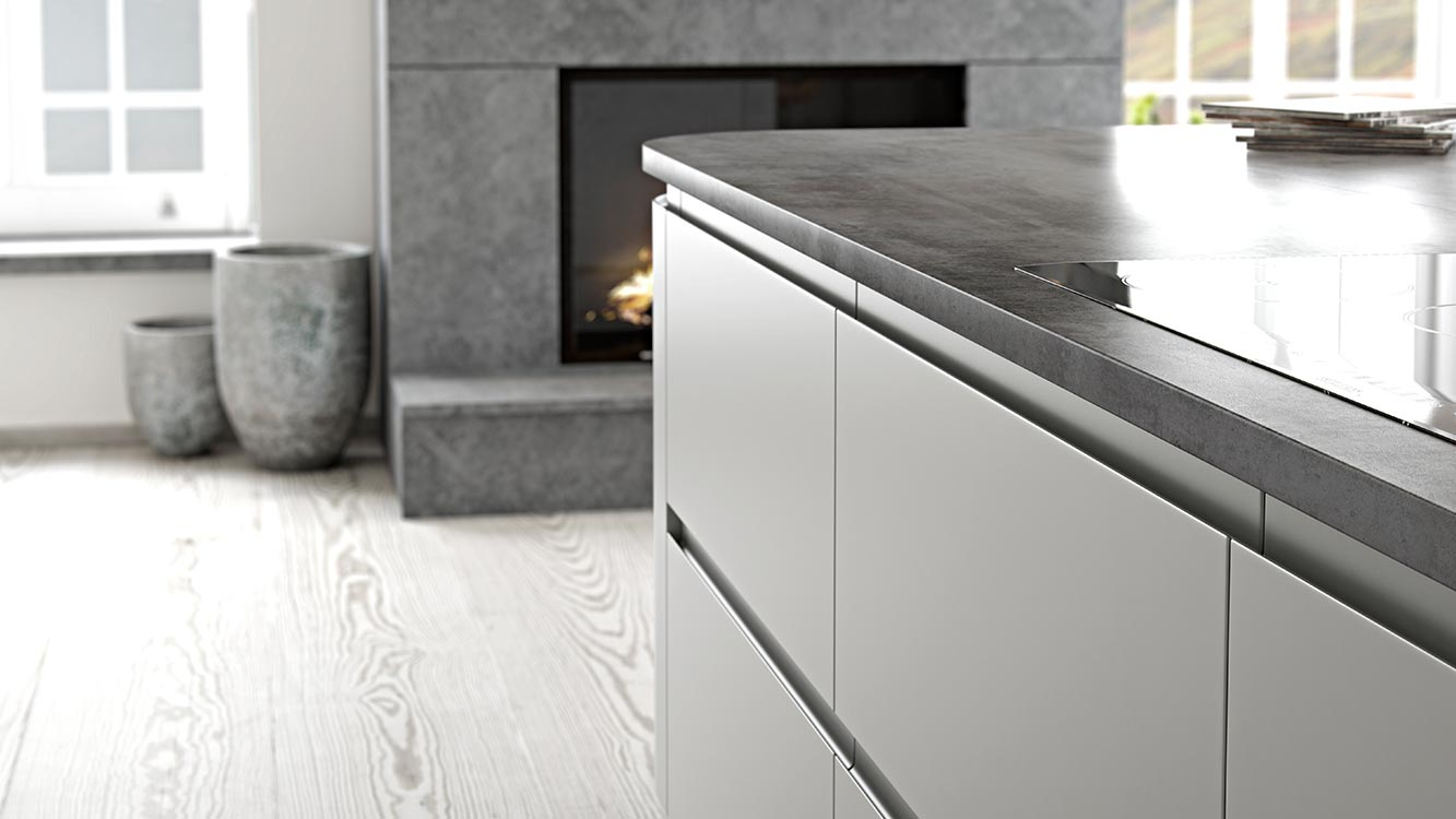Masterclass kitchens Blackburn Roma LightGrey3