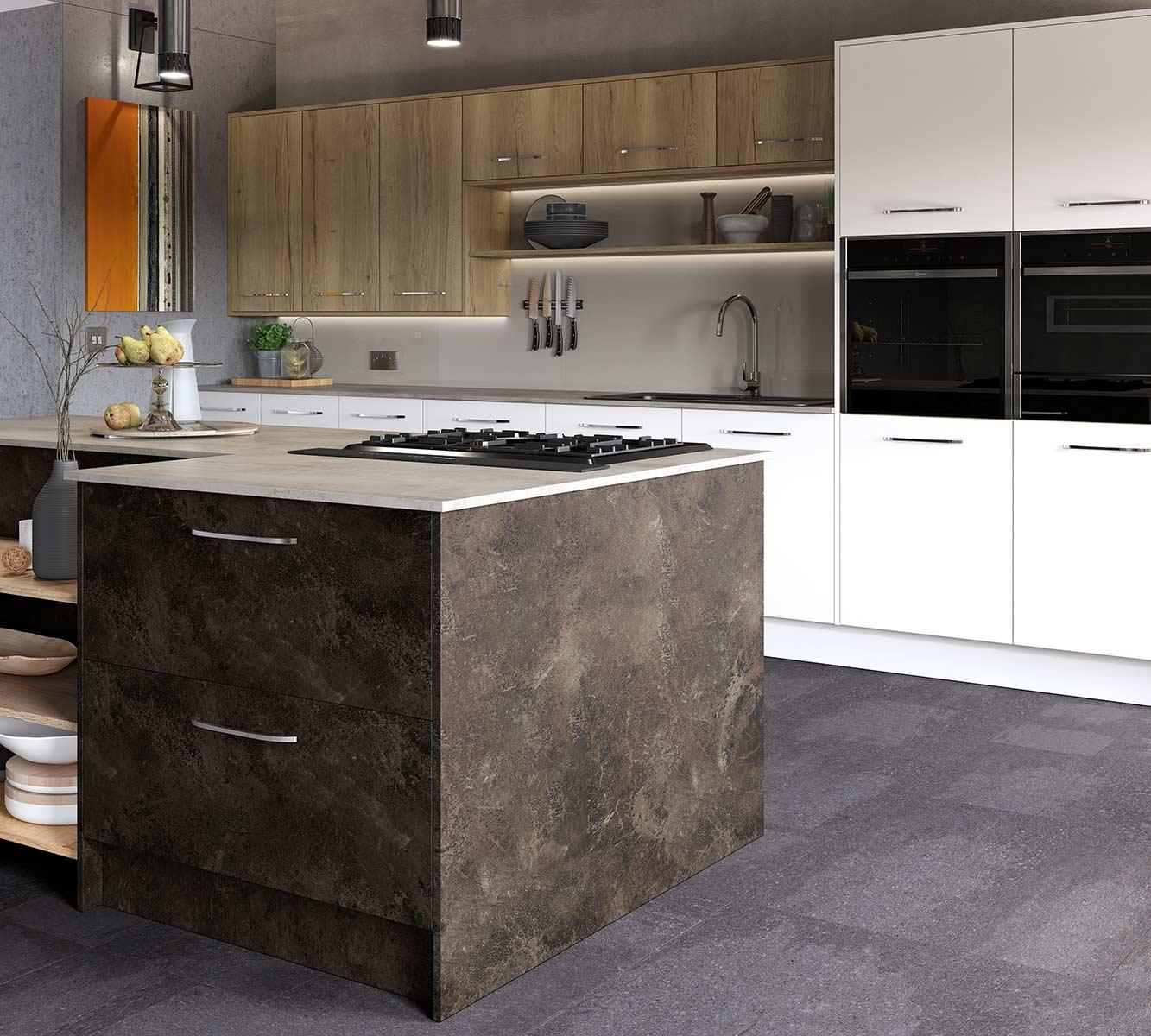 Masterclass-kitchens-blackburn-Madoc-Terra-with-Mayfield-Oak-and-Lumina-White-2