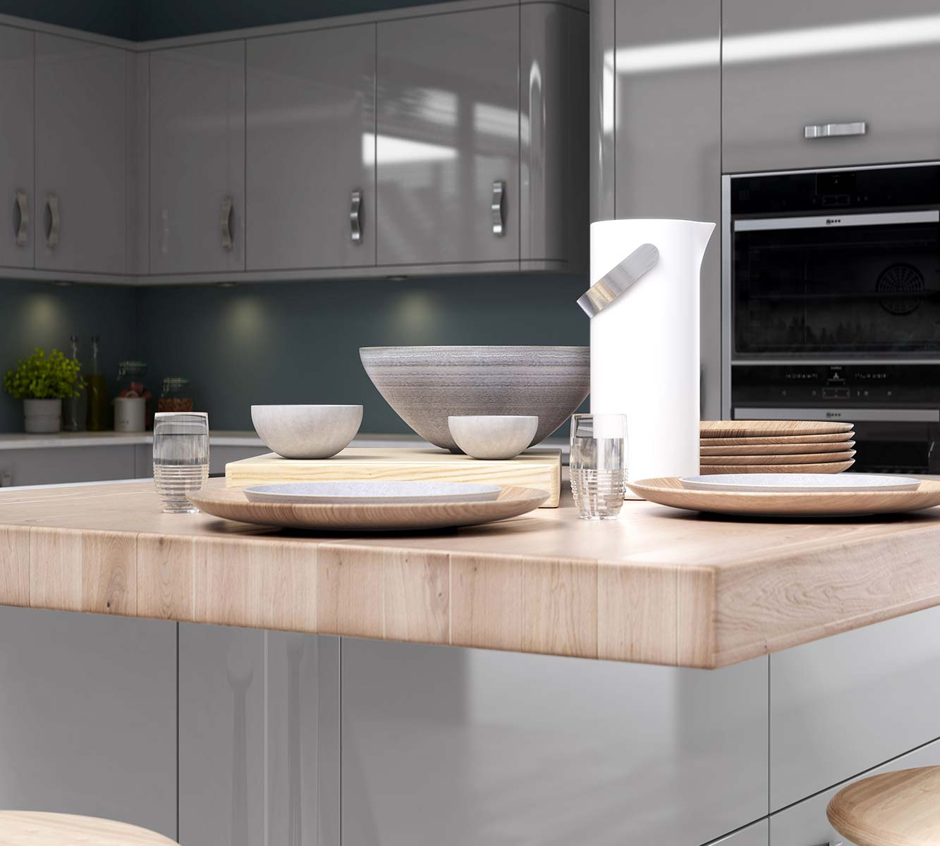 Masterclass-kitchens-blackburn-Nevada-Light-Grey