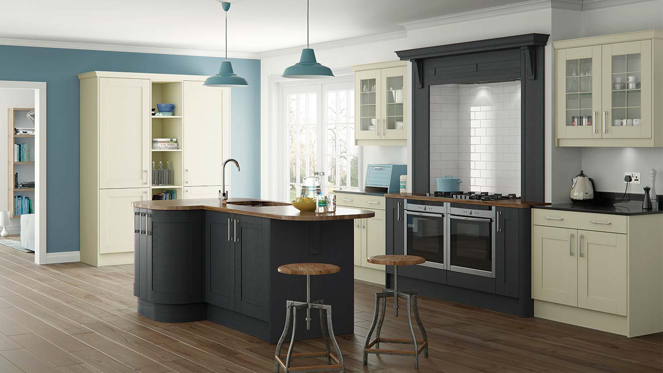 Masterclass-kitchens-blackburn-Sherborne-Ivory-Graphite