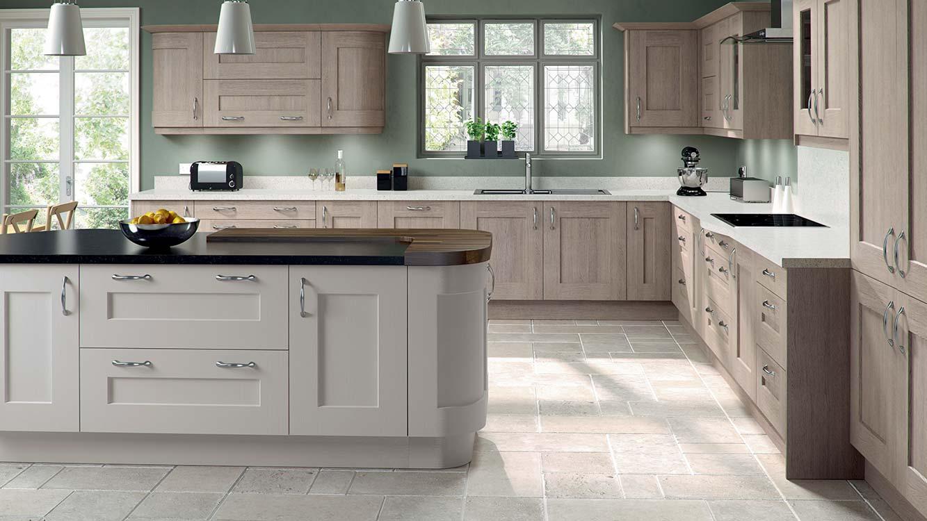 Masterclass-kitchens-blackburn-Solva-Cinnamon-&-Mussel-Shaker-Kitchen