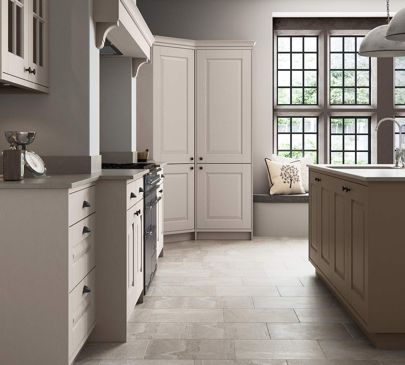 Masterclass Kitchens Blackburn Lancashire carnegie stone grey heritage grey cameo2
