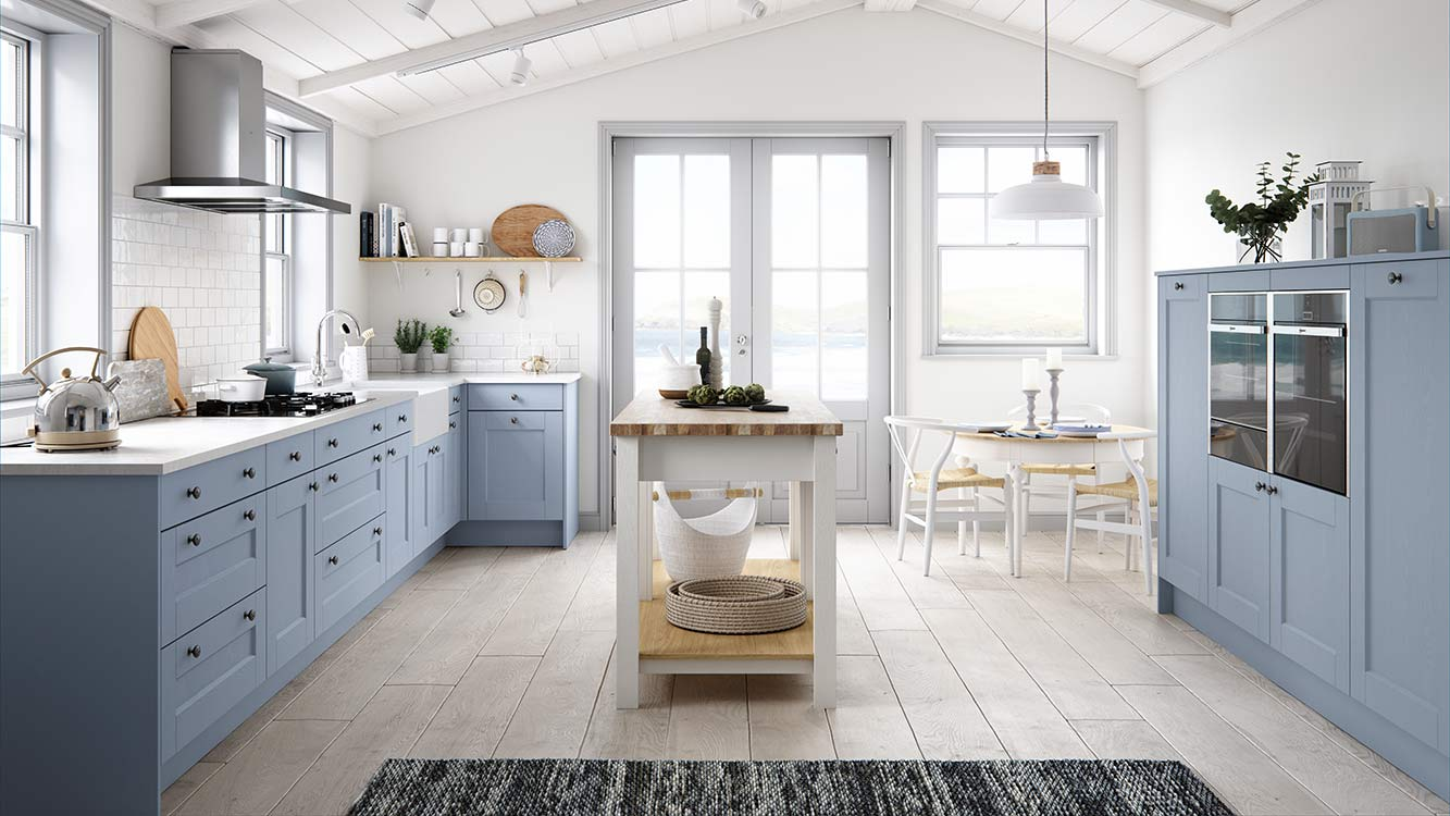 Masterclass Kitchens Blackburn Lancashire solva coastal mist scots grey